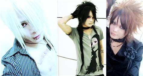 model rambut j rock japanese rock band hairstyles dj sisen gpkism j rock