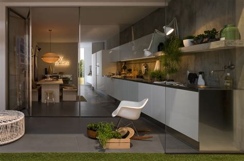 Modern Italian Kitchen Design From Arclinea Designing My Kitchen