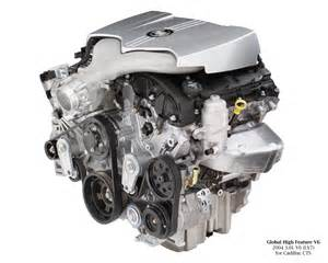 Cadillac Cts 3 6 Engine 2004 Cadillac Cts 3 6l V6 Ly7 Engine Photo 2