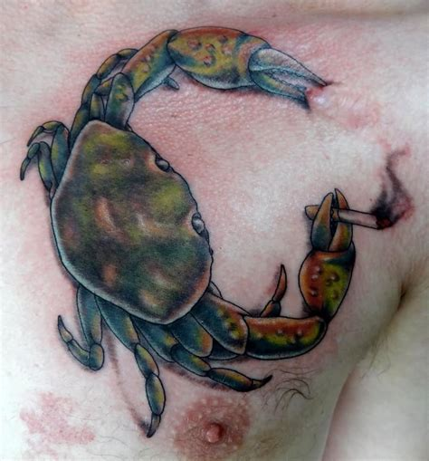 crab tattoos crab tattoos designs ideas and meaning tattoos for you