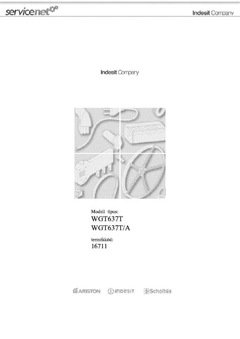 indesit wgt637t service manual free schematics