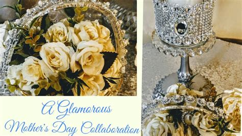 home decor centerpieces diy glamorous dollar tree gifts mother s day collaboration