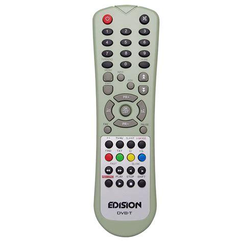 Remote Receiver Dvb Universal remote for edision receiver avantage triton dvb t ebay