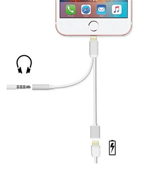 format audio pour iphone adaptateur double prises jack lightning iphone 7
