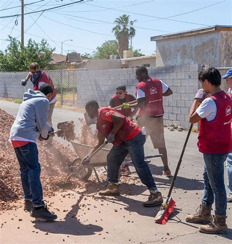 lowes henderson nevada rebuilding together southern nevada partners with lowe s to rebuild four homes and the henderson