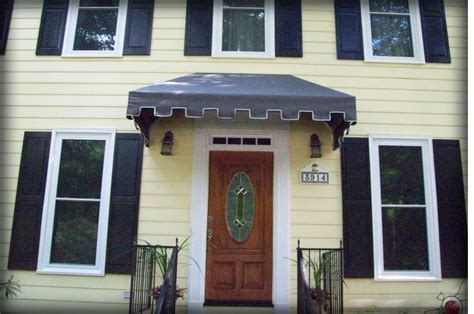 fabric door awnings residential fabric metal door window awnings covers