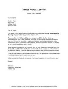 how to start a proposal letter business proposal