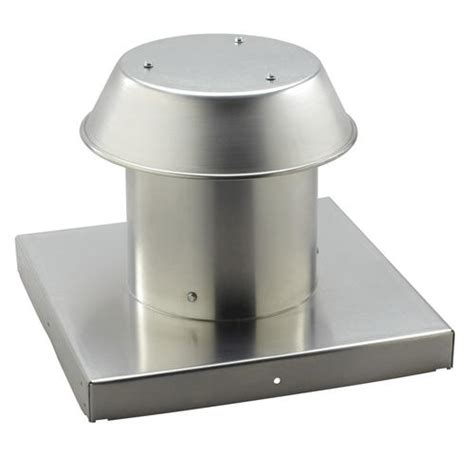 bathroom fan roof cap broan 174 aluminum roof cap