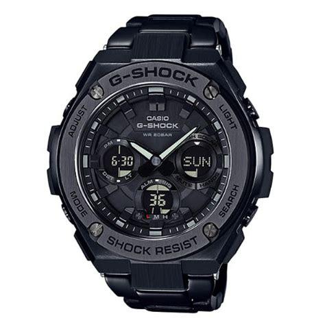 casio g shock g steel gst s110bd 1b indowatch co id