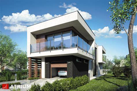 modern house project modern house nowoczesny dom pi苹trowy z p蛯askim dachem