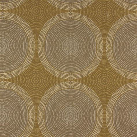 Upholstery Fabric Pittsburgh by Shibori Antique Gold Concentric Circles Upholstery Fabric