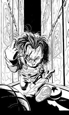 Love Chucky and his bride | My Likes | Pinterest | Chucky