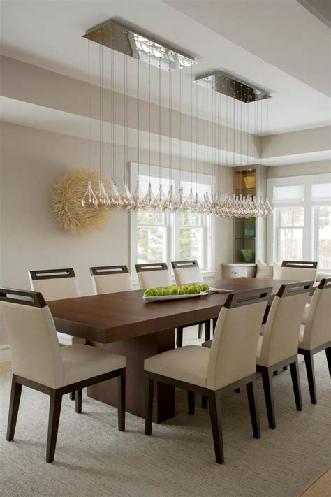 dining room lights contemporary 25 best ideas about modern dining table on pinterest