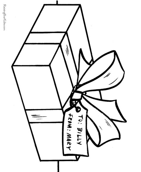 coloring pages of christmas presents present coloring pages coloring home