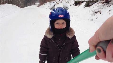 1 year skiing how to teach 3 years kid skiing
