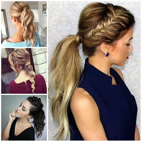 Simple Ponytail Hairstyles by Simple Ponytails For 2017 2017 Haircuts