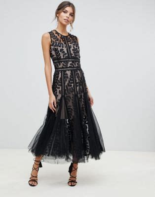 banco saba bronx and banco bronx and banco saba lace and tulle midi