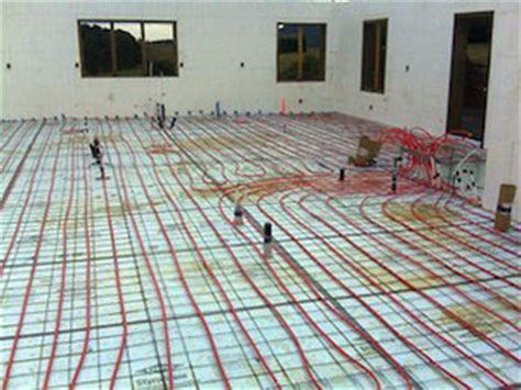 Radiant Floor Heating   Green Building   Winsome Construction