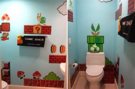 Mario Bros Bathroom by Don T Get Into A Warp Zone While Using The