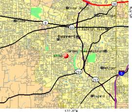 beaverton area map with zipcode quotes quotes