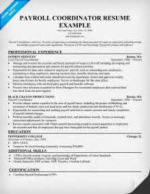 resume format 2013 sle philippines payslip payroll coordinator resume sle resumecompanion com job 101 pinterest resume exles