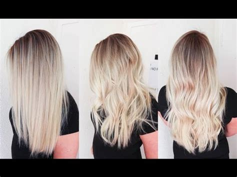 sunkissed hair | smudge roots and sombre balayage