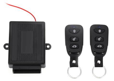 Alarm Mobil Keyless Entry remote wireless door lock mobil black