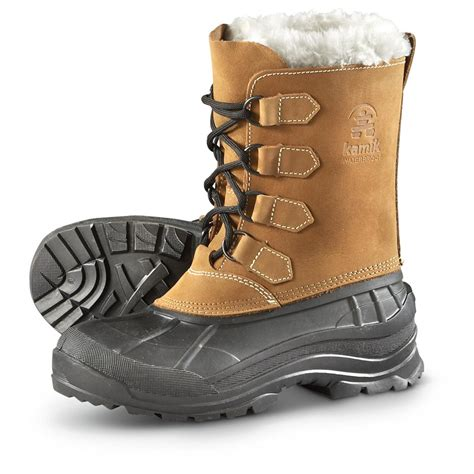 snow boots kamik s alborg waterproof pac boots 299517 winter snow boots at sportsman s