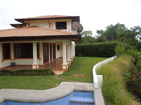 costa rica houses for sale on the house with awesome garden id code 2665