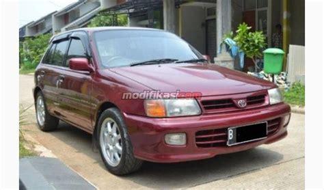 Lu Depan Toyota Starlet Bekas jual toyota starlet 1 3 seg turbo look merah 1997 mantab