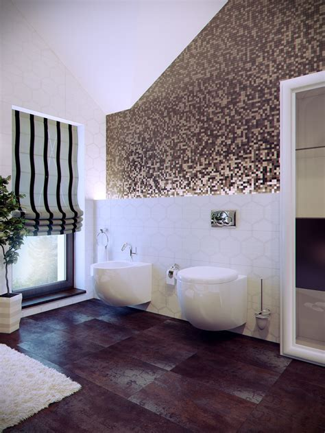 Modern Bathroom With Tile Interior Design Ideas Modern Tile Designs For Bathrooms
