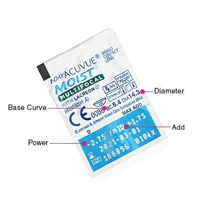 1 day acuvue moist multifocal 30pk contact lenses
