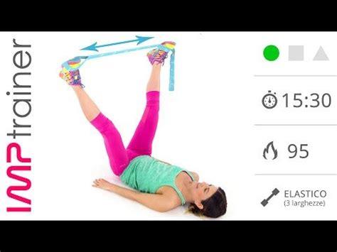 esercizi per rassodare interno coscia e glutei workout glutei con elastico salud t workout exercise
