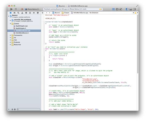 sle xcode game project writing games with c for android on a mac setting up