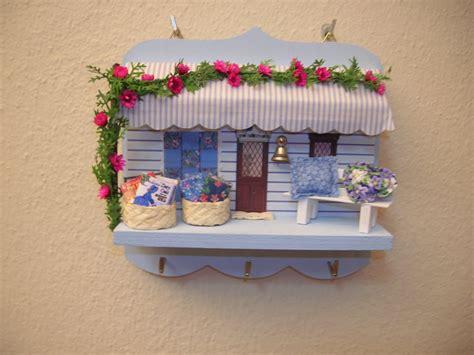 Patchwork Shop - workshop zet miniature patchwork shop key holder