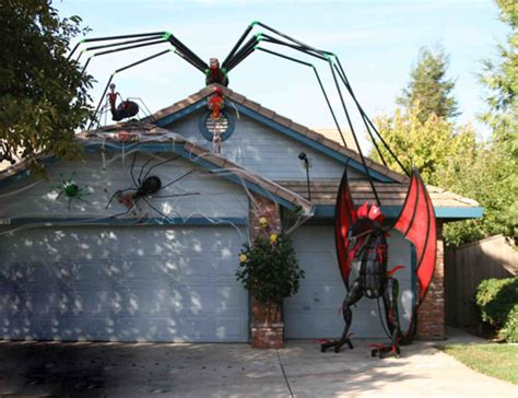 decorated homes for halloween festive halloween houses with fun facts interesting 6