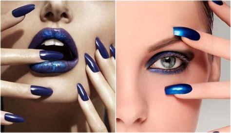 imagenes de ojos y labios maquillados maquillaje en azul el 233 ctrico
