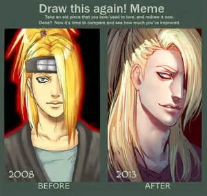 draw this again meme template draw this again meme by moni158 on deviantart