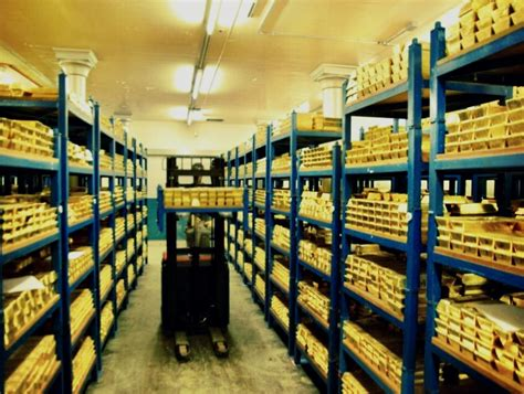 gold bank a of light into londons gold vaults