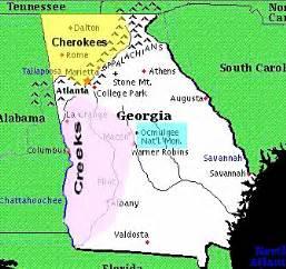 native american tribes in georgia (u.s. state)
