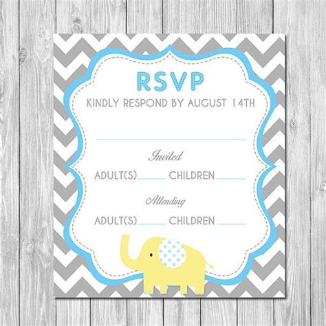 baby shower invitation with rsvp office templates