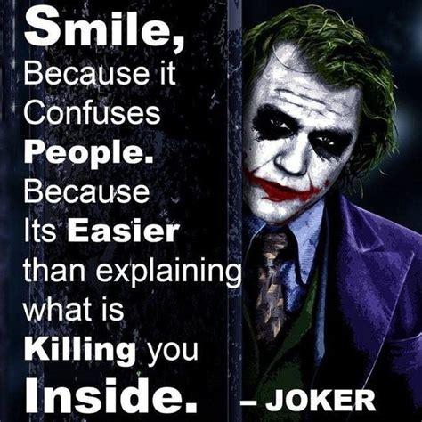 best joker which are the joker s best quotes quora