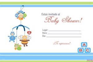 invitaciones baby shower 4 gratis personalizables para