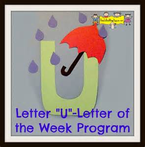 letter quot u quot letter of the week program how to run a home