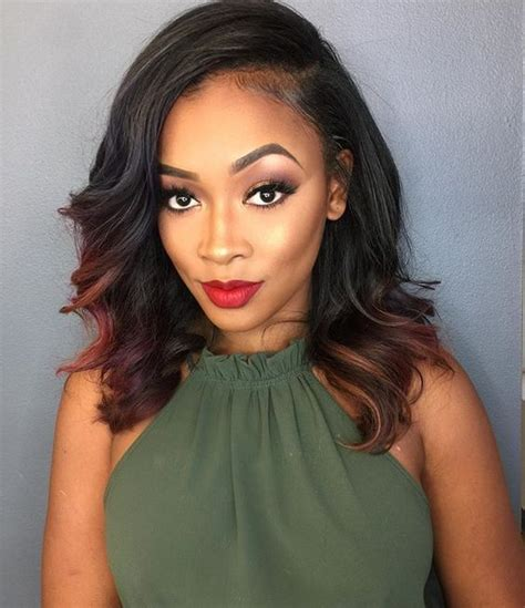 sew in summer styles best 25 black weave hairstyles ideas on pinterest black