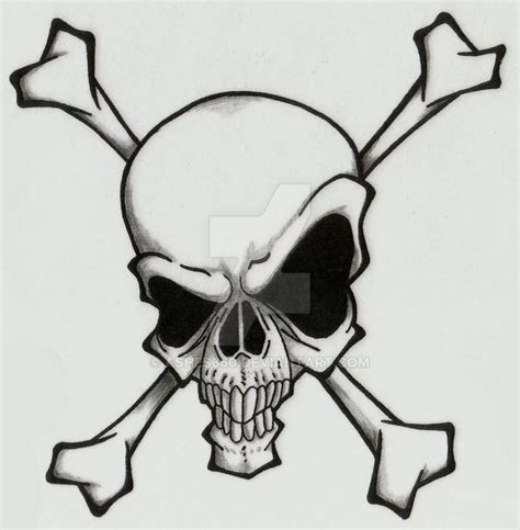 skull and crossbones tattoo designs best 25 cool skull drawings ideas on skull