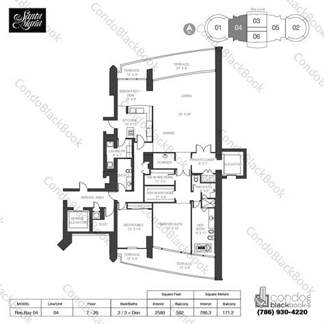 santa maria brickell floor plans santa maria unit 1504 condo for sale in brickell miami