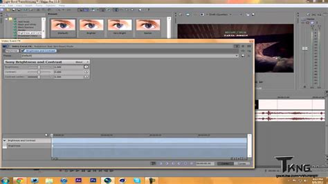 sony vegas pro transition tutorial sony vegas tutorial light burst transition youtube