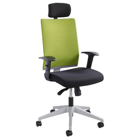 Chair Headrest by Tez Manager Chair With Headrest Zuri Furniture