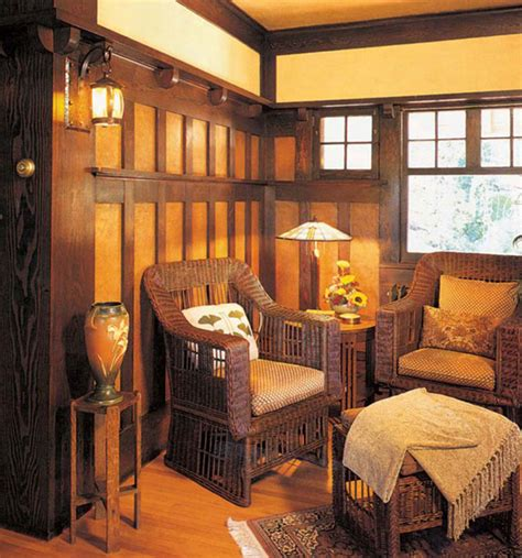 Spanish Revival House Plans wood wainscot revival arts amp crafts homes and the